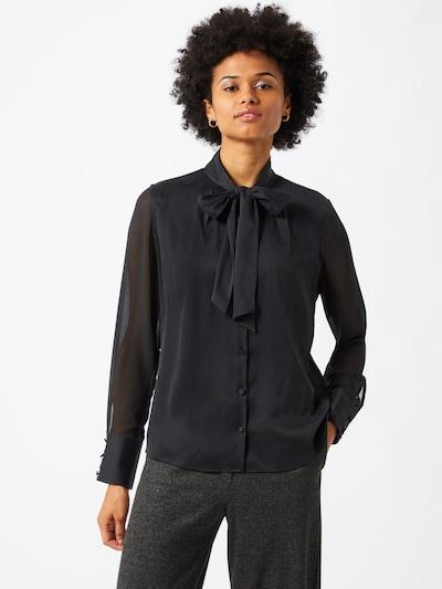 HUGO Blouse 'Enriela' in de kleur Zwart, Modelweergave