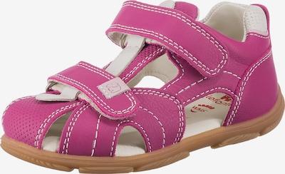ELEFANTEN Sandale in pink / weiß: Frontalansicht
