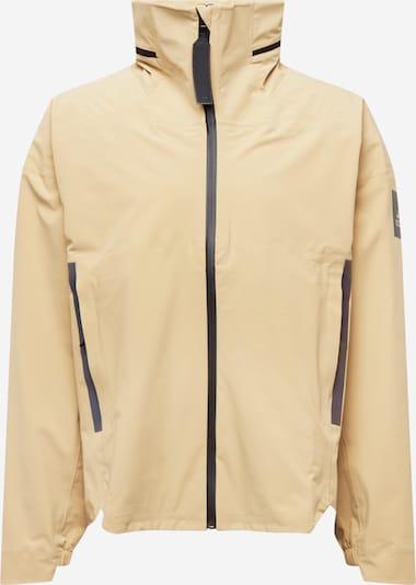 ADIDAS PERFORMANCE Jacke in beige / schwarz, Produktansicht