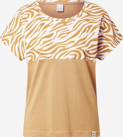 Iriedaily T-Shirt in creme / sand, Produktansicht