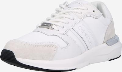 Calvin Klein Sneaker in creme / silber / weiß, Produktansicht