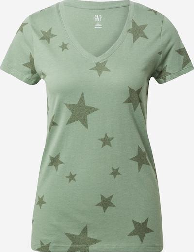 GAP Shirt in de kleur Kaki / Lichtgroen: Vooraanzicht