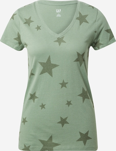 GAP Shirt in Khaki / Light green: Frontal view