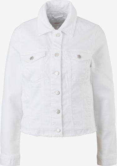 s.Oliver Jacke in white denim, Produktansicht
