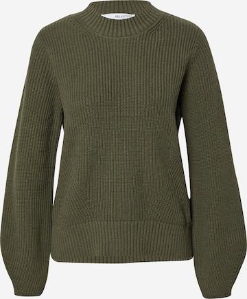 SELECTED FEMME Sweater 'LESLIE' in Grey