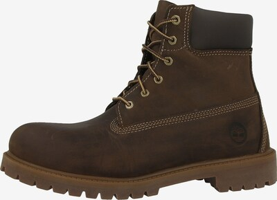 TIMBERLAND Boots in dunkelbraun: Frontalansicht