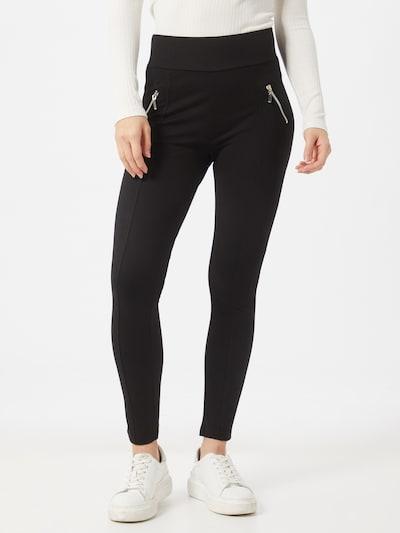 ZABAIONE Leggings 'Lona' in de kleur Zwart, Modelweergave