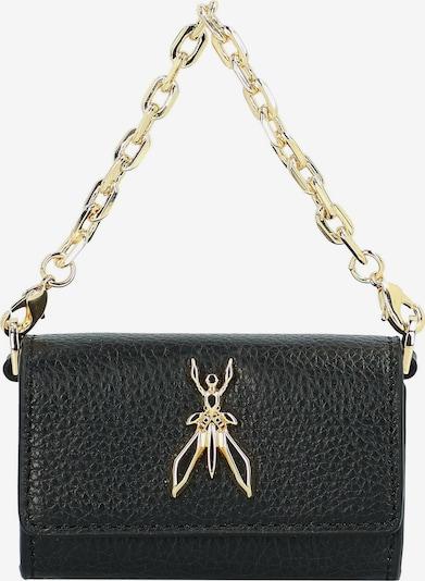 PATRIZIA PEPE Handtas in de kleur Goud / Zwart, Productweergave