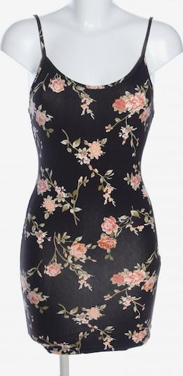 Forever 21 Jerseykleid in S in creme / pink / schwarz: Frontalansicht