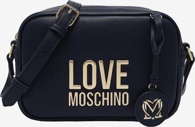 Love Moschino Schoudertas in de kleur Blauw, Productweergave