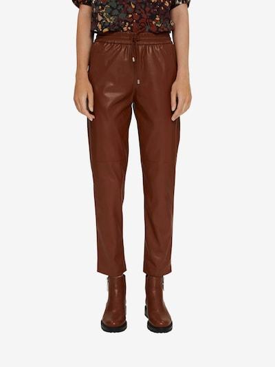 Esprit Collection Hose in braun, Modelansicht