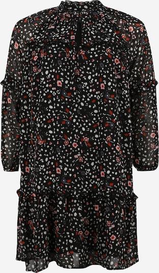 Vero Moda Curve Robe en mélange de couleurs / noir, Vue avec produit