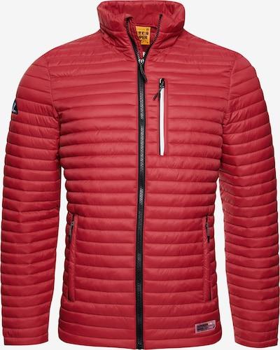 Superdry Tussenjas in de kleur Rood, Productweergave