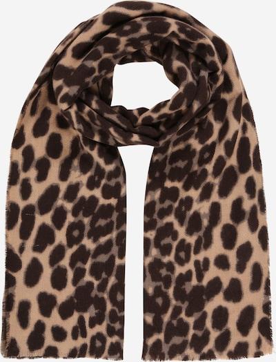 PIECES Sjaal 'RONJA' in de kleur Donkerbruin / Zwart, Productweergave