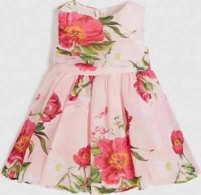 GUESS KIDS Guess Kids CHIFFONKLEID PRINT ALLOVER in rosa, Produktansicht