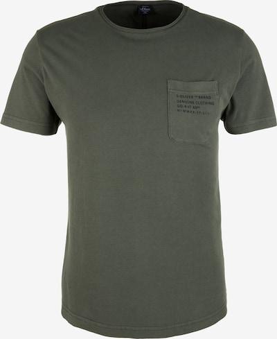 s.Oliver T-Shirt in oliv, Produktansicht