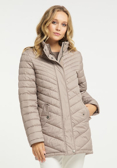Palton de iarnă DreiMaster Klassik pe roz pudră, Vizualizare model