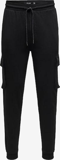 Only & Sons Hose 'Kian' in schwarz, Produktansicht