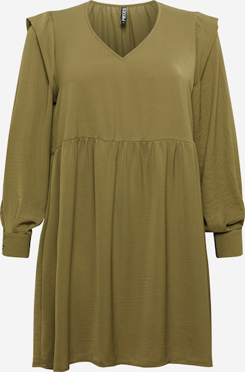 PIECES (Curve) Dress 'Dorthy' in Olive, Item view