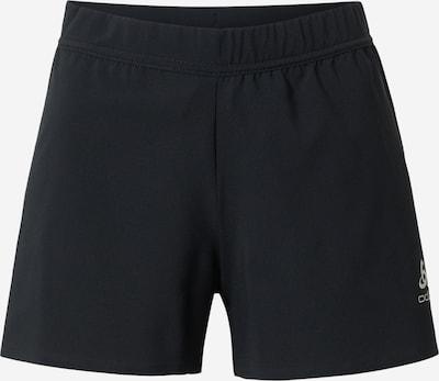 ODLO Sportovní kalhoty 'Zeroweight' - černá / bílá, Produkt