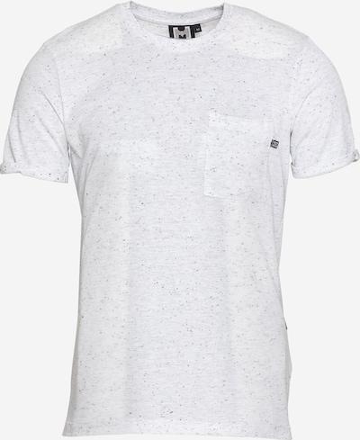 Tricou 'Zach' Hailys Men pe negru / alb, Vizualizare produs