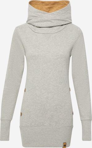 Fli PapiguSweater majica 'Rotwelsch' - siva boja