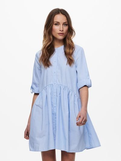 ONLY Košilové šaty 'ONLCHICAGO' - světlemodrá / bílá, Model/ka