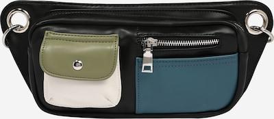 HVISK Pojasna torbica u kaki / petrol / crna / bijela, Pregled proizvoda