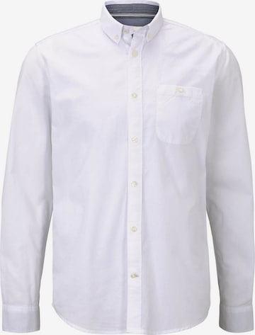 TOM TAILOR Button Up Shirt in White