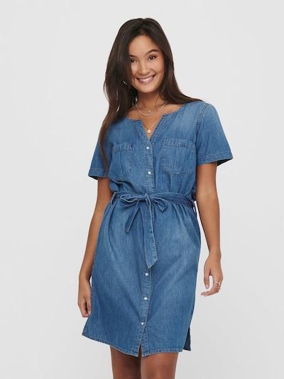 JDY Kleid 'JDYSAINT' in blue denim, Modelansicht