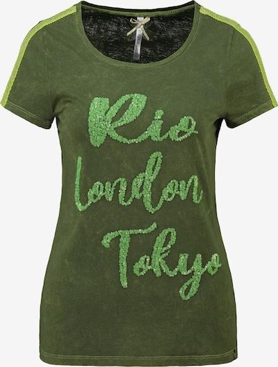 Key Largo T-Shirt 'WT CAPITAL' in grün, Produktansicht