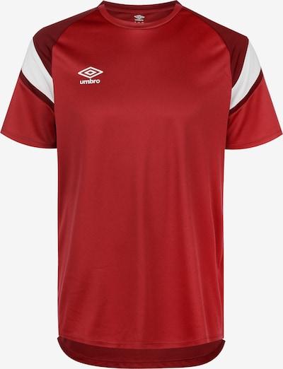 UMBRO Training Jersey Trainingsshirt Herren in rot, Produktansicht