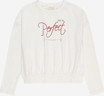 OVS Shirt in rot / schwarz / weiß, Produktansicht