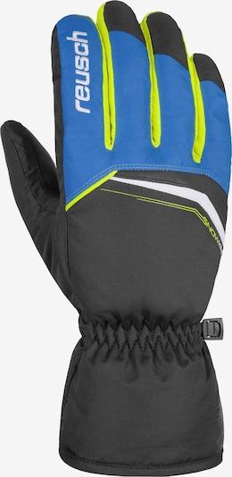 REUSCH Fingerhandschuh 'Snow King' in blau / schwarz, Produktansicht