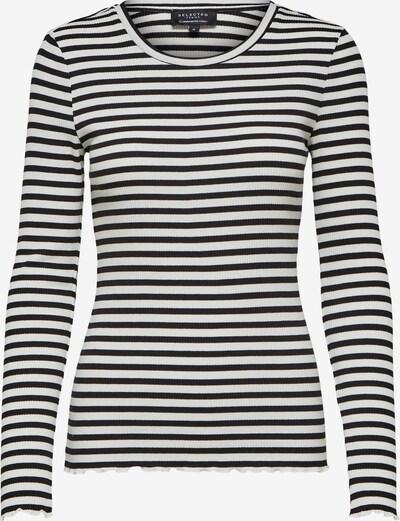 SELECTED FEMME Tričko 'ANNA' - černá / bílá, Produkt