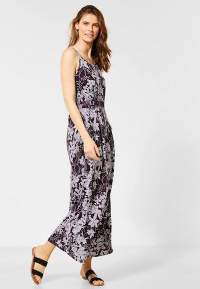 CECIL Kleid in rot / weinrot / weiß, Modelansicht
