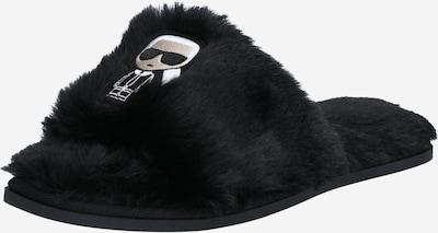 Naminės šlepetės 'SALOTTO II' iš Karl Lagerfeld , spalva - juoda / balta, Prekių apžvalga