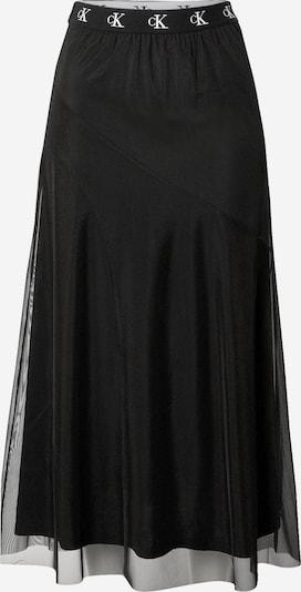 Calvin Klein Jeans Jupe en noir / blanc, Vue avec produit