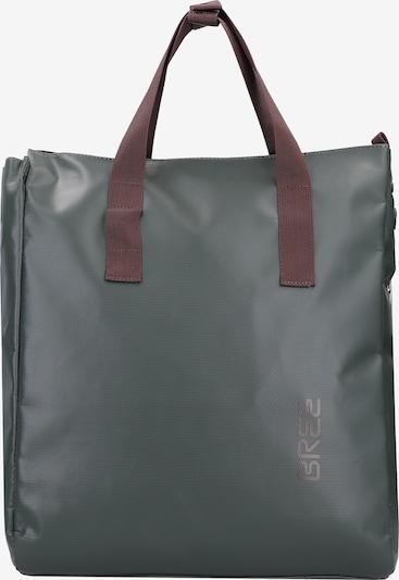 BREE Rucksack in braun / grün, Produktansicht
