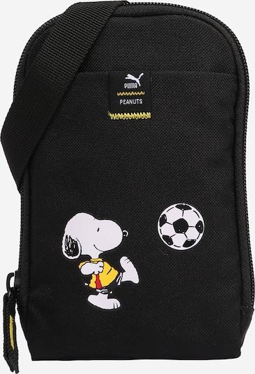 PUMA Tasche in gelb / melone / schwarz / weiß, Produktansicht