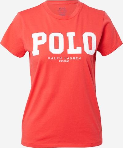 POLO RALPH LAUREN T-Shirt in rot / weiß, Produktansicht