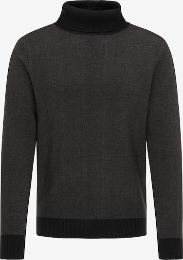 DreiMaster Vintage Pullover in dunkelgrau / schwarz, Produktansicht