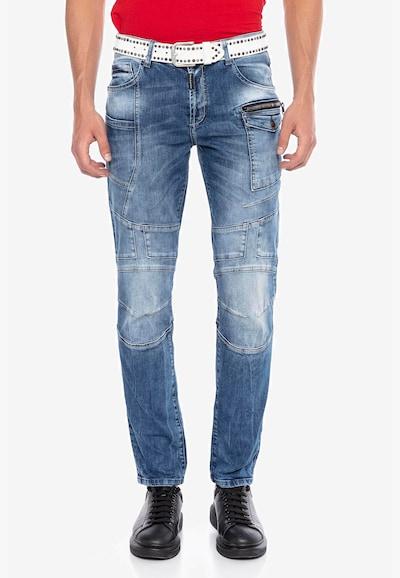 CIPO & BAXX Jeans in blau, Modelansicht