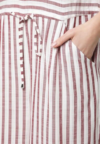 Madam-T Overall in rot / weinrot / weiß, Produktansicht