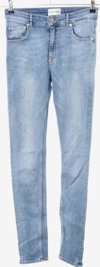 Won Hundred Skinny Jeans in 29/32 in blau / weiß, Produktansicht