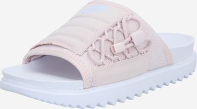 Nike Sportswear Pantolette 'City' in hellgrau / rosa / weiß, Produktansicht
