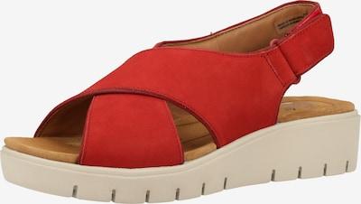 CLARKS Sandale in rot, Produktansicht