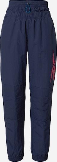 Pantaloni sport REEBOK pe navy / roz, Vizualizare produs