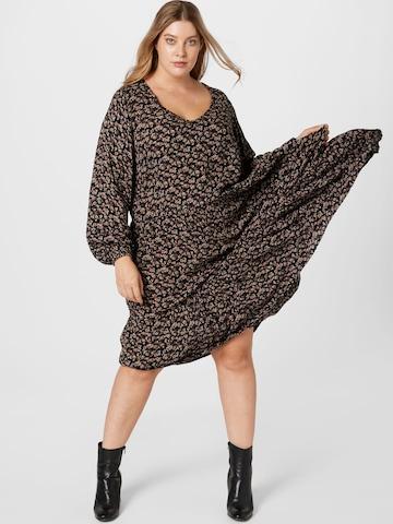 KAFFE CURVE Dress 'Alia Ami' in Mixed colors