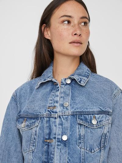 VERO MODA Jacke 'VMKATRINA LS LOOSE JACKET' in blue denim, Produktansicht